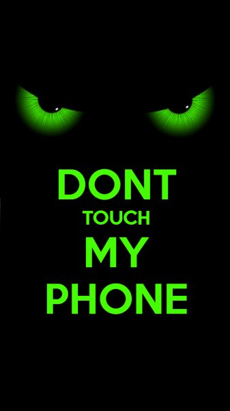 dont sentuh telefon bimbit saya wallpapers HD4