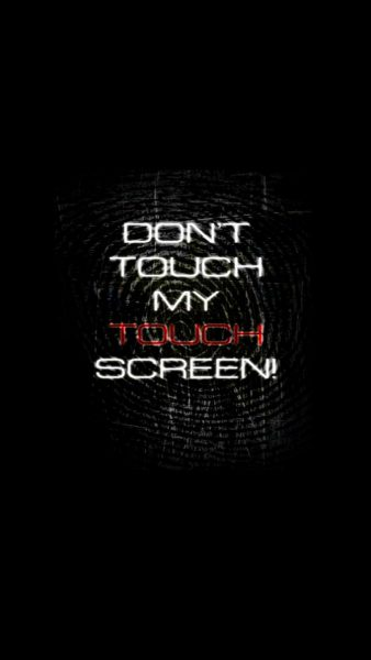 dont touch my phone wallpapers HD5