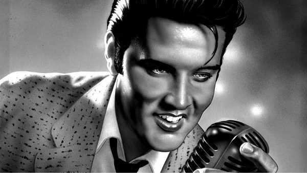 elvis presley tapeter HD4