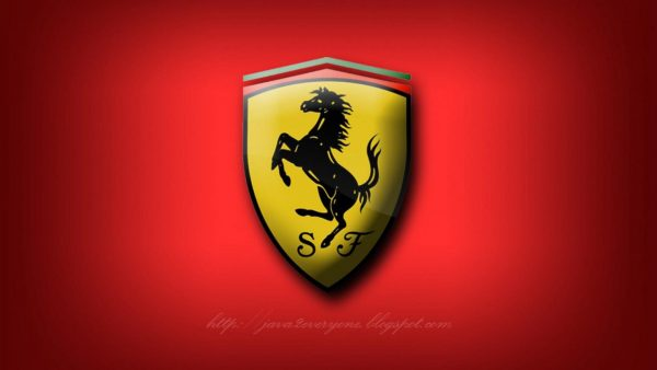 ferrari logo wallpaper HD1