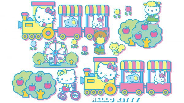 Hello Kitty taustakuva hd HD9