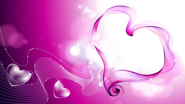 love pink wallpaper HD2