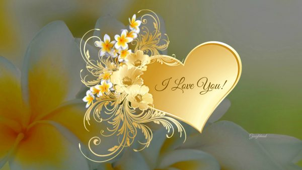 I Love You! HD Desktop Background