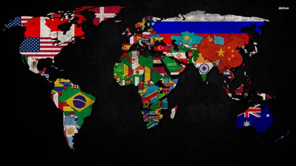 map of the world wallpaper HD1