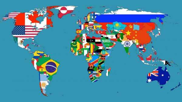 map of the world wallpaper HD3