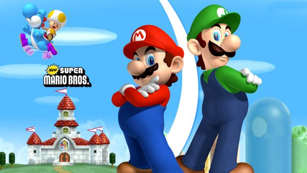 mario bros Tapete HD5