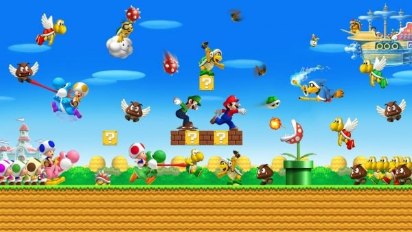 mario bros Tapete HD7