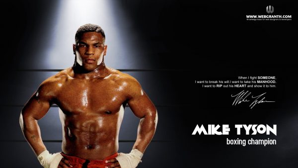 Mike Tyson tapetti HD2