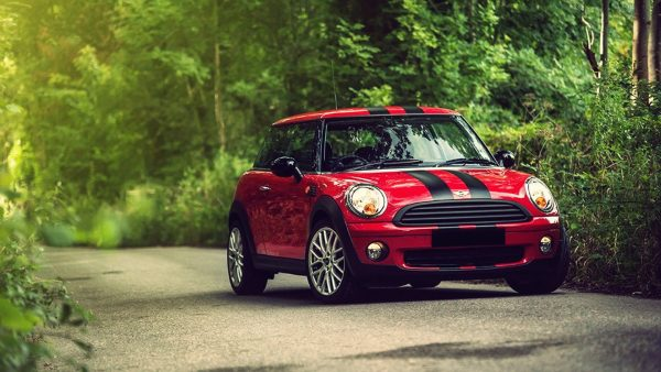 Mini Cooper tapeter HD2