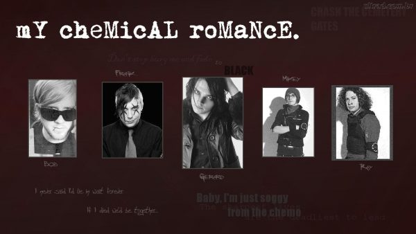 My Chemical Romance tapeter HD10