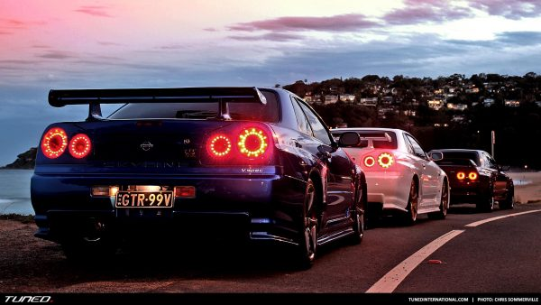Nissan Skyline tapeter HD4