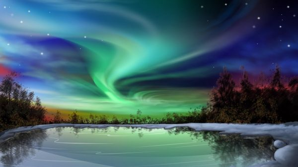 northern lights wallpaper HD9