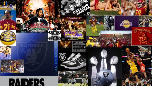 Oakland Raiders tapetti HD5