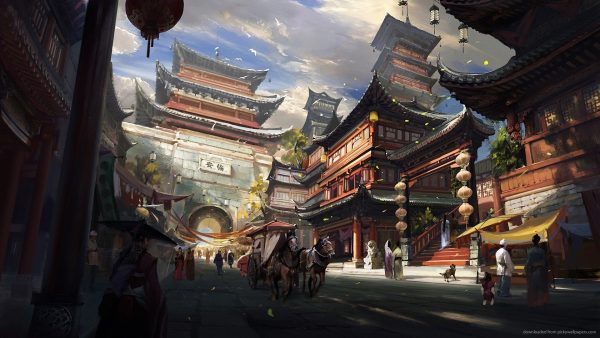 oriental wallpaper HD1