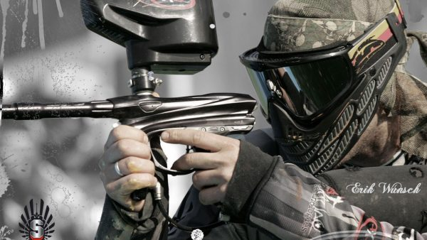 Paintball-Tapete HD2