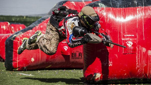 Paintball-Tapete HD8