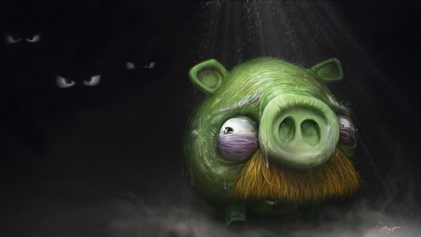 pig wallpaper HD4