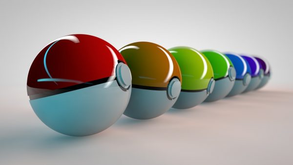 fond d'écran pokeball HD1