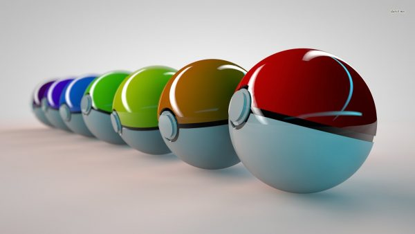 fond d'écran pokeball HD2