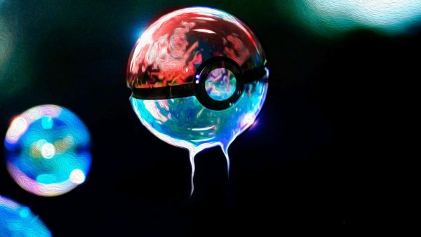 fond d'écran pokeball HD3
