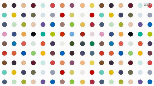 polka dots wallpaper HD1