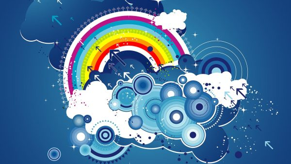 regenboog wallpapers HD1