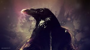raven wallpaper HD