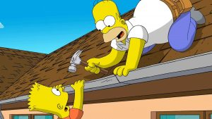 simpson tapet HD