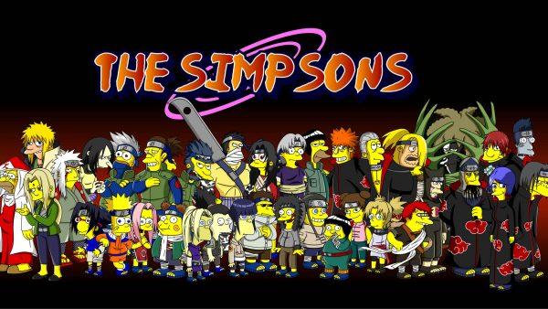Simpson tapet HD4