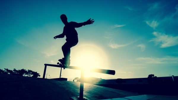 Skateboard-Tapete HD2