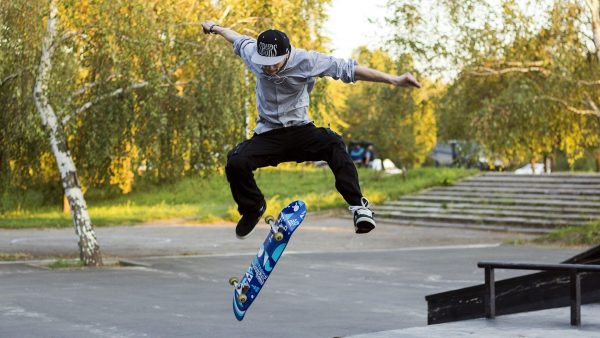 Skateboard-Tapete HD4