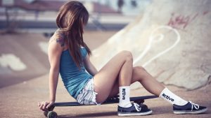 Skateboard-Tapete HD
