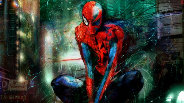 Spiderman kertas dinding hd HD4