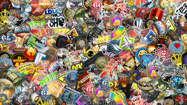 sticker bomb wallpaper HD3