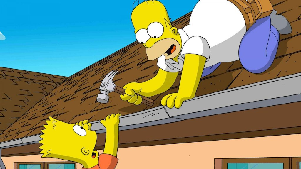 The Simpsons tapet HD1