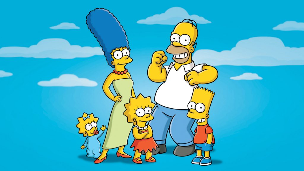 The Simpsons tapet HD4