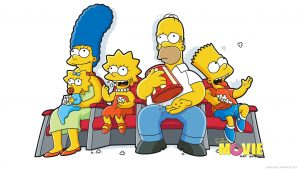 the simpsons behang HD