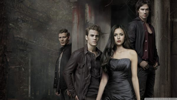 The Vampire Diaries behang HD2