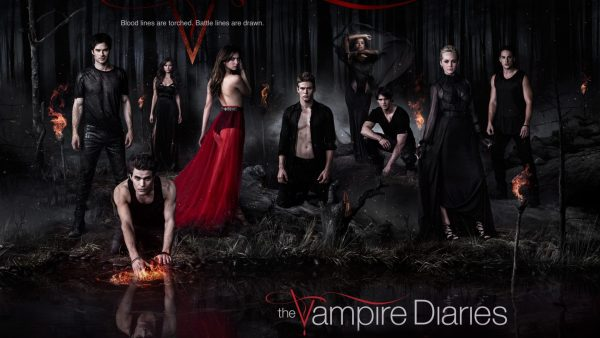 The Vampire Diaries behang HD3