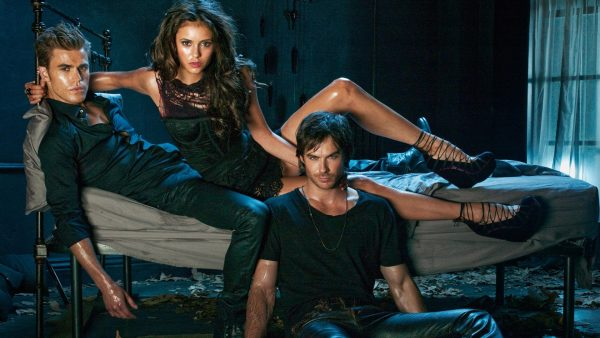 The Vampire Diaries behang HD8