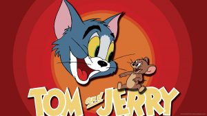 tom dan jerry kertas dinding HD