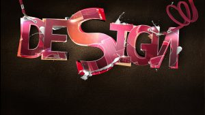 typografie behang HD