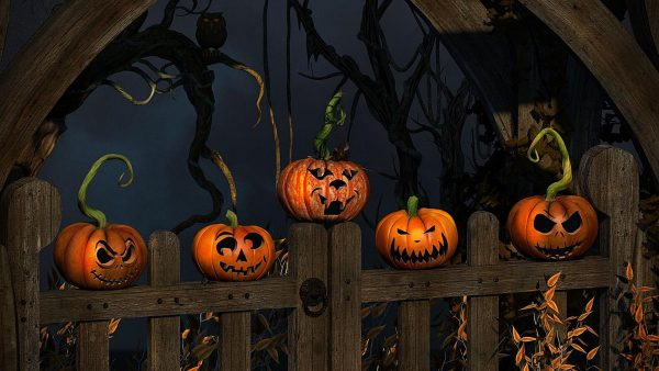 wallpaper halloween HD1