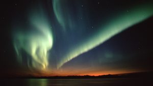 aurora borealis behang HD
