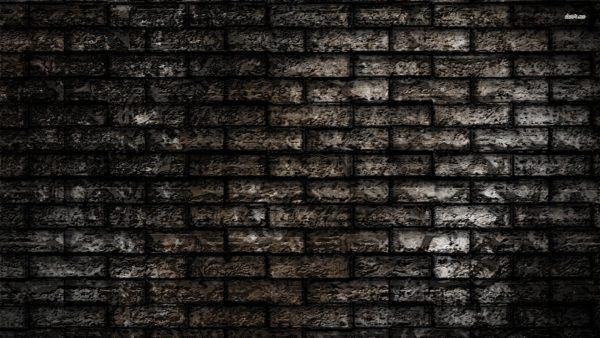 black brick wallpaper HD1