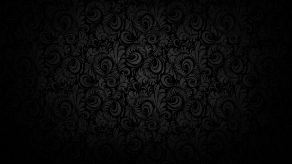 black damask wallpaper HD1