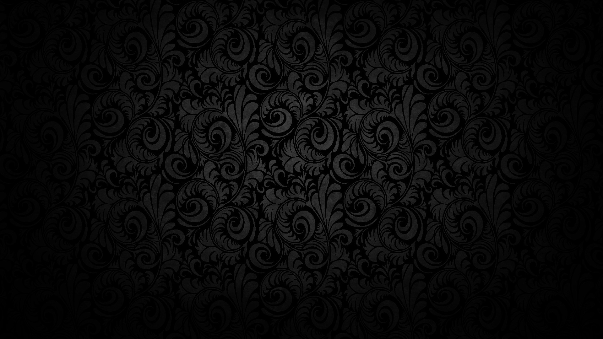 black damask wallpaper on - photo #15