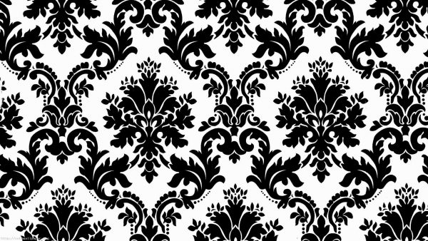 black damask wallpaper HD6