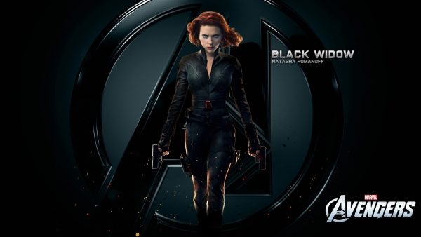 black widow wallpaper HD1