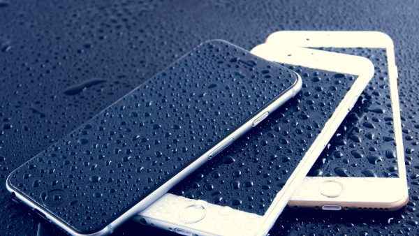 blauw iphone Wallpaper6
